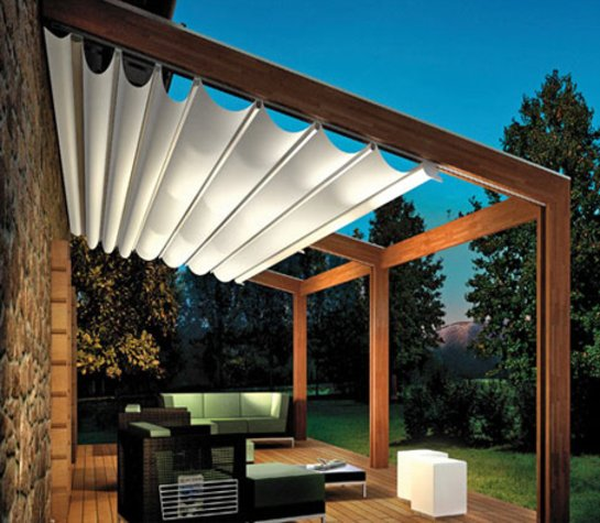 pergola aus holz fur terrasse. Black Bedroom Furniture Sets. Home Design Ideas