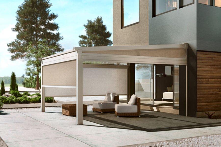 pergola markisen effektive beschattung f r pergolen dolenz gollner. Black Bedroom Furniture Sets. Home Design Ideas