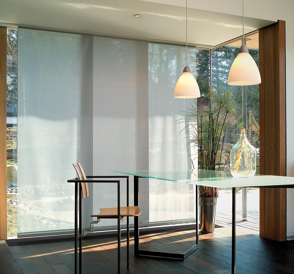 fl chenvorhang formsch ner sichtschutz im raum dolenz gollner. Black Bedroom Furniture Sets. Home Design Ideas