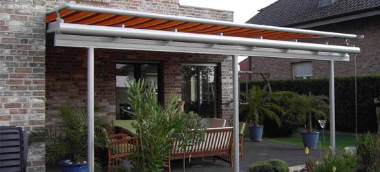 Sonnenschutz Markisen Terrasse
